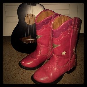 Other - Light up Pink Cowboy Boots
